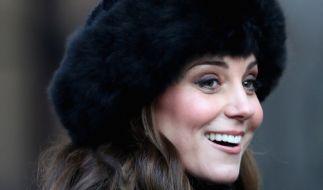 Kate Middleton hatte 2018 öfter Grund zum Lachen. (Foto)