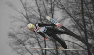Der Skispringen-Weltcup 2018/19 ist in vollem Gange. (Foto)