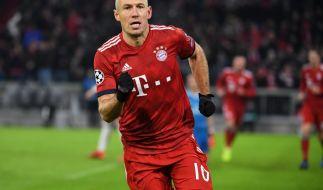 Arjen Robben macht nach zehn Jahren Schluss beim FC Bayern. (Foto)