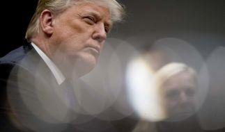 Donald Trump war im Visier eines Attentäters. (Foto)