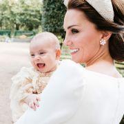 DARUM ist Herzogin Kate mächtig stolz auf Prinz Louis (Foto)