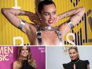 Miley Cyrus, Heidi Klum, Giulia Siegel