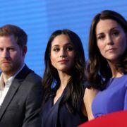 Herzogin Kate schwänzt einen Termin - wegen Herzogin Meghan (Foto)