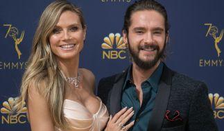 Heidi Klum und ihr Liebster Tom Kaulitz sind bereits voll in Weihnachtsstimmung. (Foto)