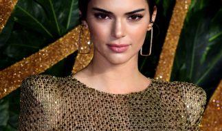 Kendall Jenner bei den British Fashion Awards 2018. (Foto)