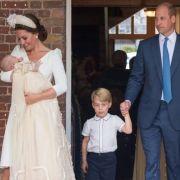 Kate Middleton und Prinz William zeigen ihren süßen Nachwuchs.