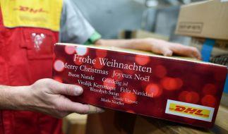In der Vorweihnachtszeit schnellt der Paketversand in die Höhe. (Foto)