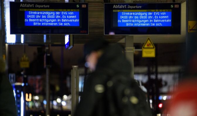 Bahn-Streik 2018