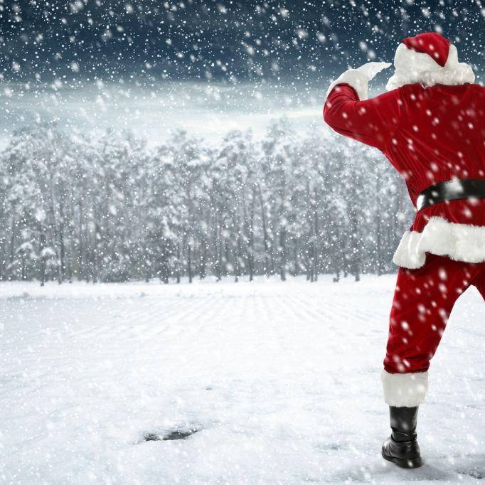 HIER könnte es weiße Weihnachten geben (Foto)