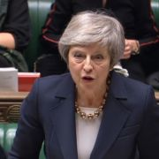 Theresa May zittert um ihr Amt alsParteichefin und Premierministerin. (Foto)
