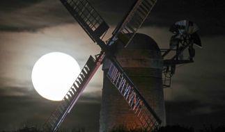 2019 gibt es einige Mondspektakel am Himmel zu sehen. (Foto)
