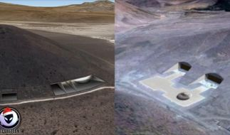 Geheime Militärbasis bei Google Earth