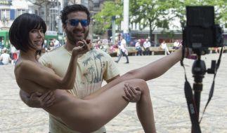 Milo Moire zeigte sich mal wieder nackt, wie Gott sie schuf. (Foto)