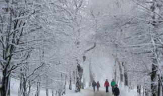 Am Sonntag soll neuer Schnee und Eisregen für Wetterchaos sorgen. (Foto)