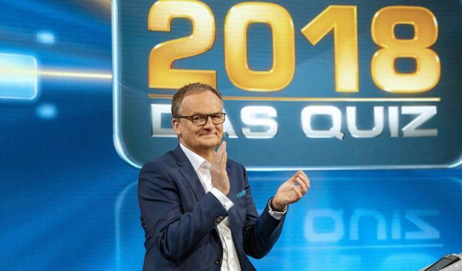 """""""2018 - Das Quiz"""" im TV und Live-Stream"""