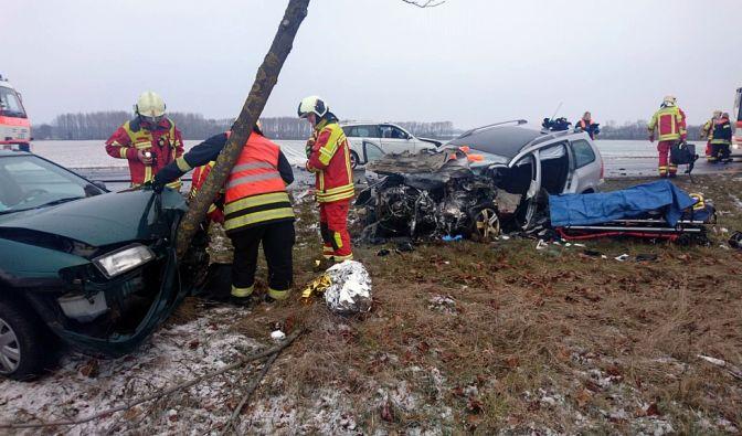 Schwerer Unfall in Thüringen