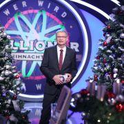 """Bei """"Wer wird Millionär"""" lud Moderator Günther Jauch zum großen Weihnachts-Special. (Foto)"""