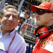 Zuletzt schaute Jean Todt Formel 1 in Schumis Haus (Foto)