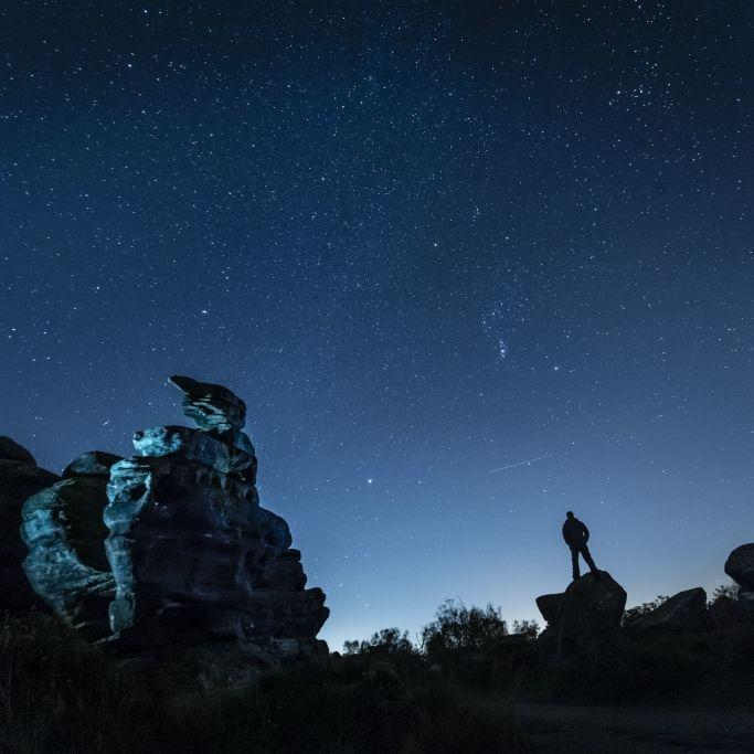 Sternschnuppenregen und Mondfinsternis erleuchten Nachthimmel (Foto)