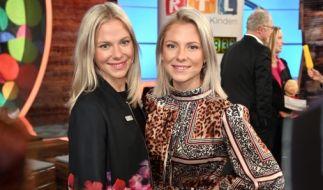 """Die Schauspielerinnen Cheyenne (l) und Valentina Pahde (r) stehen auch in diesem Jahr wieder für """"Holiday on Ice - Atlantis"""" auf dem Eis. (Foto)"""