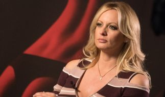 "Stormy Daniels freut sich über ihr erstes ""Playboy""-Shooting. (Foto)"