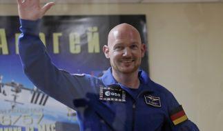 Der deutsche Astronaut Alexander Gerst vor seinem Flug ins All Anfang Juni 2018. (Foto)