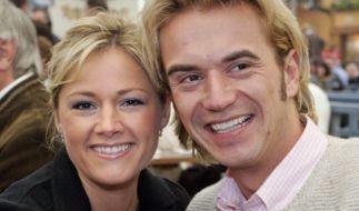 Helene Fischer und Florian Silbereisen im Jahr 2008: Eines der ersten gemeinsamen Bilder, das die beiden als Paar zeigt. (Foto)