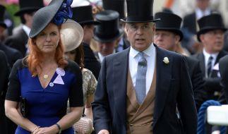 Prinz Andrew und Sarah Ferguson zeigen sich auch nach der Scheidung als starkes Team. (Foto)