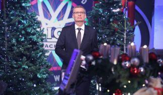 """Am Freitag präsentierte Günther Jauch die zweite Ausgabe vom """"Wer wird Millionär""""-Weihnachts-Special 2018. (Foto)"""