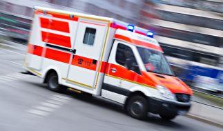 In Bayern wurde ein Mann durch einen Bauchschuss schwer verletzt. (Foto)