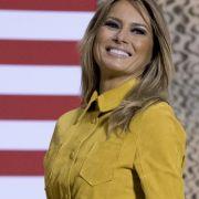 Pikant! Trägt die First Lady etwa keine Hose? (Foto)