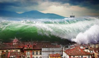 Tsunami-Warnung auf den Philippinen. (Foto)