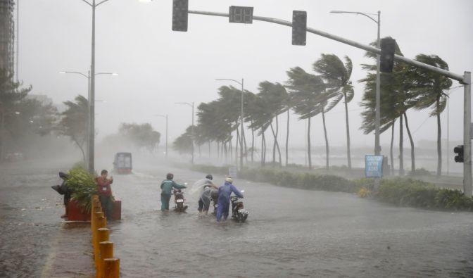 Unwetter auf Philippinen 2018