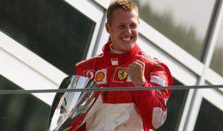 Michael Schumacher, hier auf einer Aufnahme aus dem Jahr 2006, feiert am 3. Januar 2018 seinen 50. Geburtstag. (Foto)