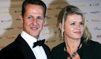 Formel-1-Rennfahrer Michael Schumacher und seine Frau Corinna. (Foto)