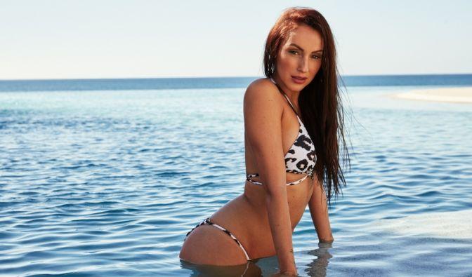 Isabell wurde im Juni 2015 für den Playboy abgelichtet.