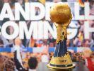Auf diesen Pokal sind die teilnehmenden Mannschaften der Handball-WM 2019 scharf. (Foto)