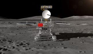 Erstmals in der Geschichte ist eine Raumsonde auf der Rückseite des Mondes gelandet. (Foto)
