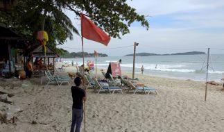 Beliebte Touristenorte in Thailand wappnen sich für den womöglich schlimmsten Sturm seit Jahrzehnten. (Foto)
