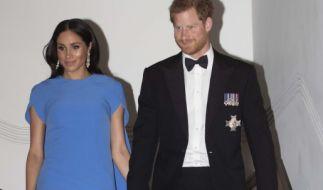 Meghan Markle und Prinz Harry werden im Jahr 2019 zum ersten Mal Eltern. (Foto)