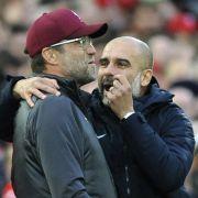 Niederlage für Klopp! Man City schlägt Liverpool mit 2:1 (Foto)