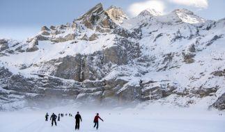 Nicht nur in den Schweizer Alpen wird es am ersten Januar-Wochenende winterliches Wetter mit Neuschnee geben. (Foto)