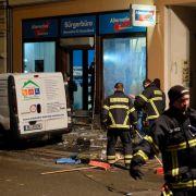 Nach Anschlag auf AfD-Büro: Drei Tatverdächtige wieder frei! (Foto)