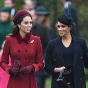 Enthüllt! Herzogin Kate fühlt sich von Meghan Markle ausgenutzt (Foto)