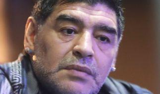 Wie steht es wirklich um Diego Maradona? (Foto)