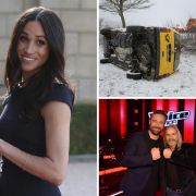 Winter-Chaos in Deutschland // Meghan Markle sitzengelassen  // The Voice Senior in der Kritik (Foto)