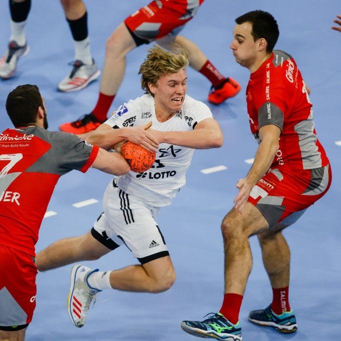 Füchse-Handballer fordern Rekordsieger Kiel (Foto)