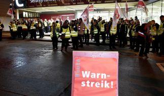Fluggäste müssen sich ab Donnerstag auf neue Warnstreiks einstellen. (Foto)