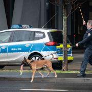 Mehrere deutsche Gerichte wegen Bombenalarm evakuiert (Foto)