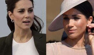 Auch in dieser Woche fanden sich Kate Middleton und Meghan Markle mehr als einmal in den Schlagzeilen wieder. (Foto)